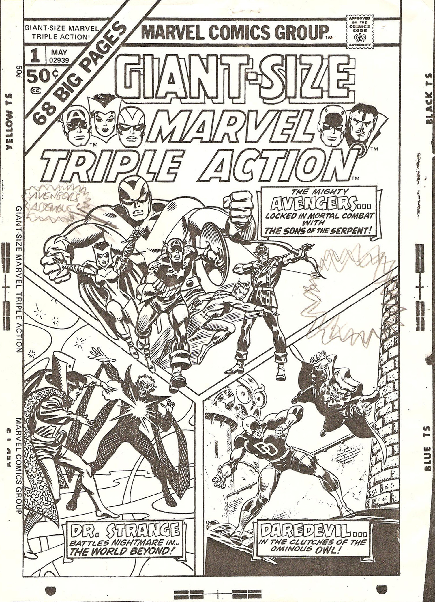 Comic Book Cover Black And White : Stan lee explains how to make a dull comic book cover