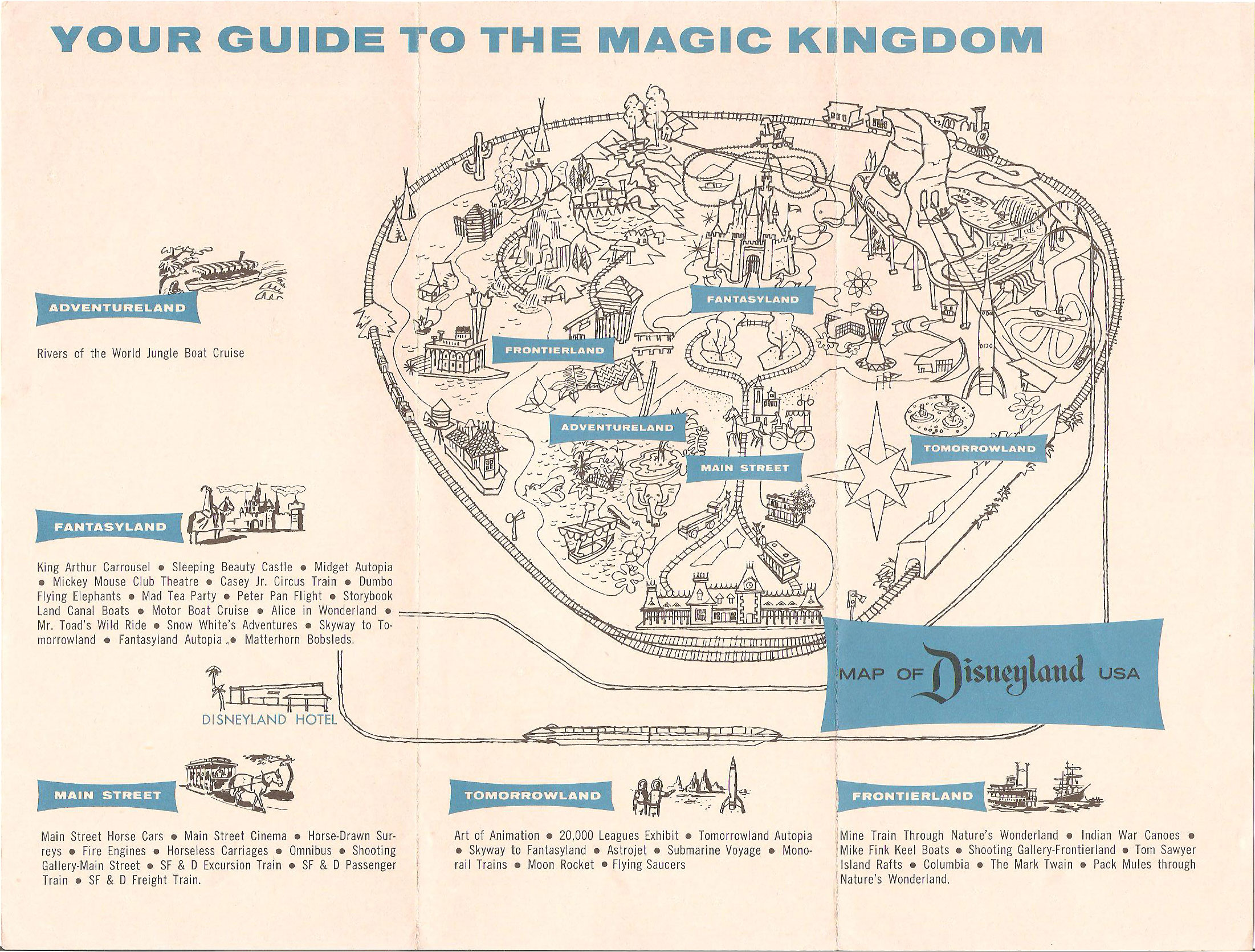 1964 Disneyland brochure: See what you missed by being born too late ...