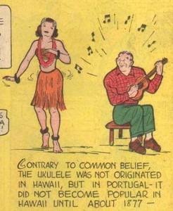 BlueRibbonComics21939Ukulele